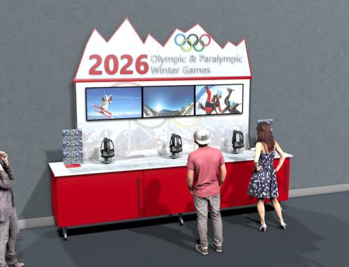 Olympic VR Experience Kiosk